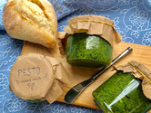 Our pesto sauce with no nuts