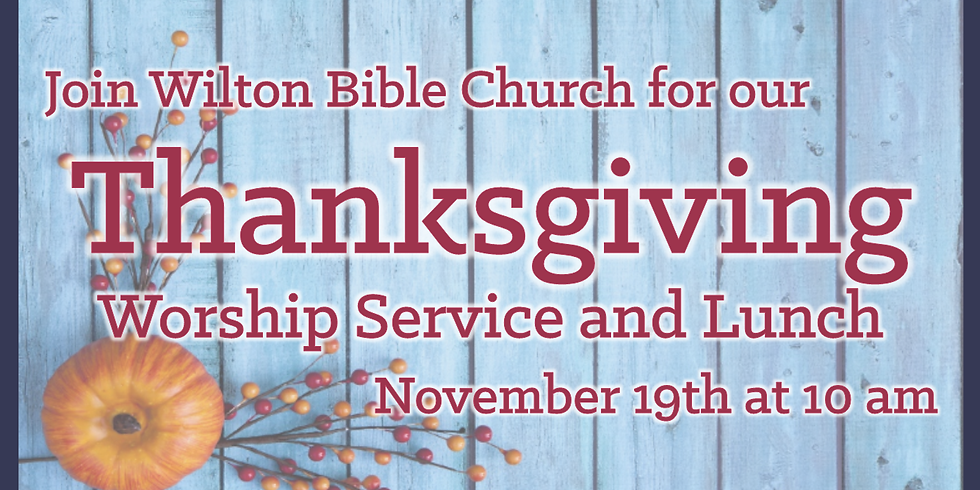 Thanksgiving Praise Service (1)