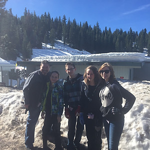 Teen Snow Outing