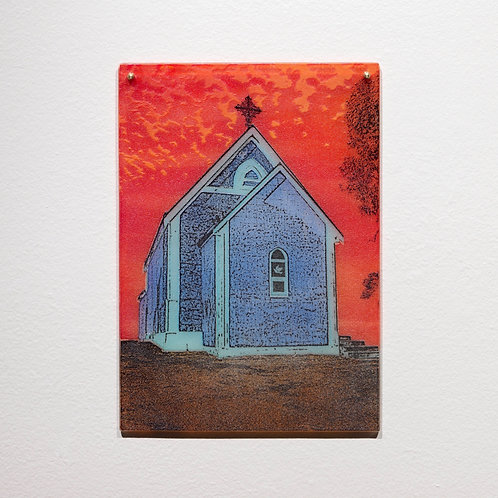 Place of Worship; Red Sky