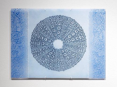 Urchin Lace wall piece; light