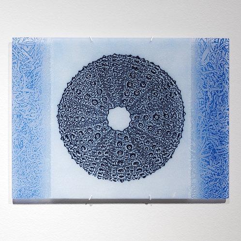 Urchin Lace wall piece; dark