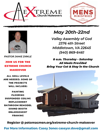 May 20th-22nd Valley Assembly of God 237