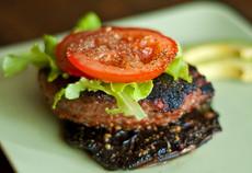Recipes & Dieting Tips: Turkey Portobello Burger Heaven
