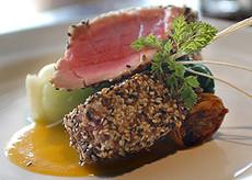 Grilled Sesame Tuna