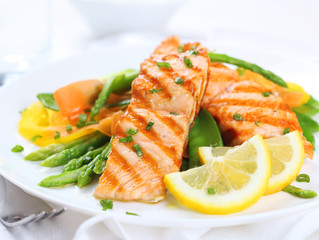 Recipes & Dieting Tips: Seared/Grilled Salmon