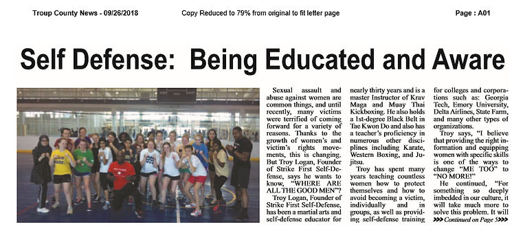 ARTICLE_Troup County News Pg 1_Sept 2018