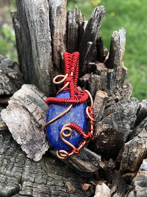 RahCrystals Lapis Lazuli Neklace