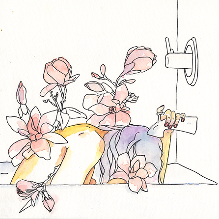 Bathing with Magnolias Lyla Merle.png