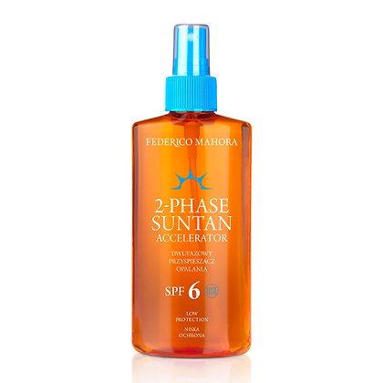 2-Phase Suntan Accelerator SPF 6 (low protection)