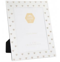 Golden Bee Mirrored Picture Frame
