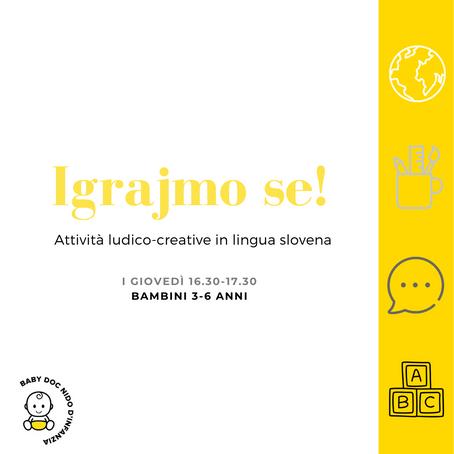 Attività per bambini 3-6 anni in lingua slovena