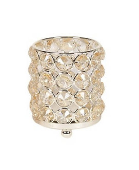 CHAMPAYNE CRYSTAL TEA LIGHT HOLDER