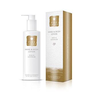 250ml Rose and Geranium Hand and Body Lotion