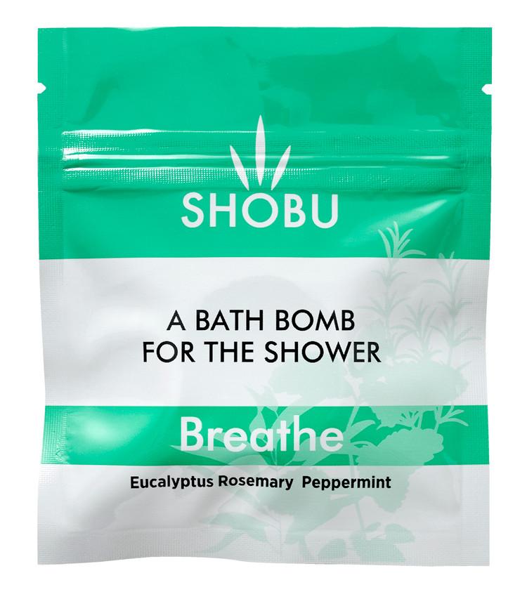 SHOBU BREATHE Shower Bomb - Eucalypt