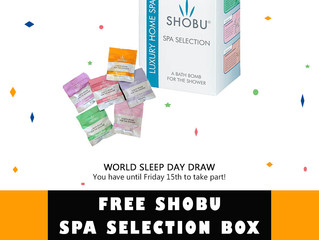 Help others to sleep well and win a special treat in the process on World Sleep Day