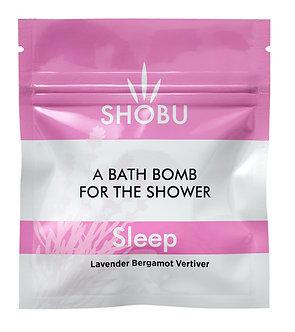 SHOBU SLEEP Shower Bomb - Lavender, Bergamot & Vetiver