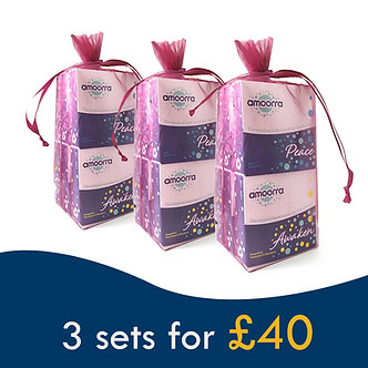 AMOORRA Shower Bombs - 3 sets Offer