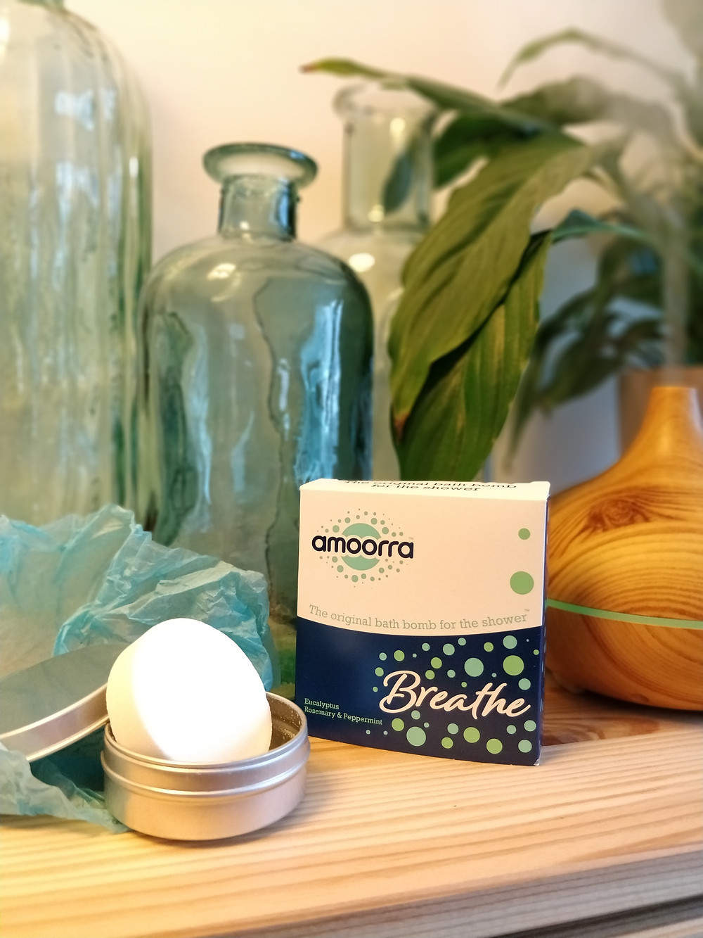 AMOORRA (SHOBU) shower bombs