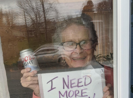93-Year-Old Makes Viral Plea for Beer During COVID 19