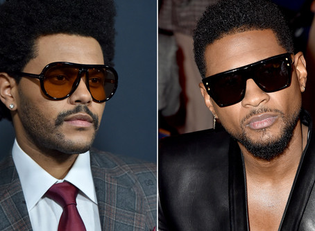 R&B Beef? Usher & The Weeknd apparently are in a feud.