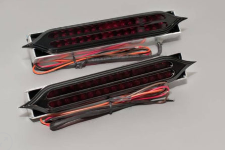 Harley – Jaded Pointed Integrated LED Tail Lights