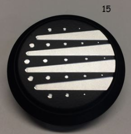 #15 VICTORY FORK TUBE CAP COVER