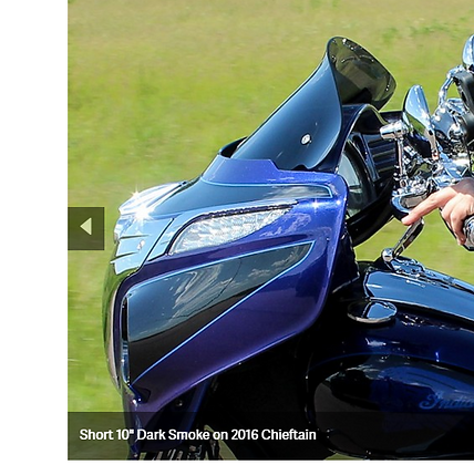 FLARE™ WINDSHIELD FOR INDIAN CHIEFTAIN / ROADMASTER