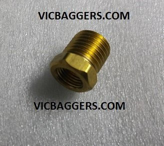 Air Ride Reducer Brass Fitting