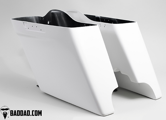 Injected Stretched Saddlebags for 2014+