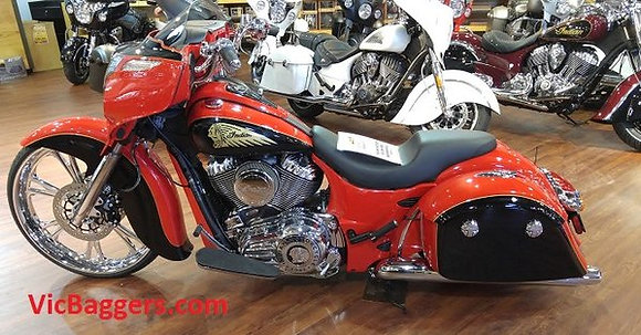 Indian Motorcycle Full Air Ride Dark Horse Chieftain