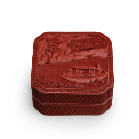 LACQUER BOX, 18TH CENTURY