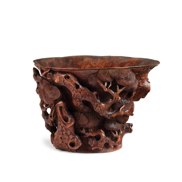 BAMBOO CUP, 17TH-18TH CENTURY