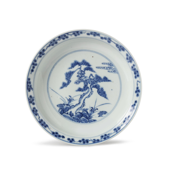PORCELAIN DISH, EARLY 18TH CENTURY