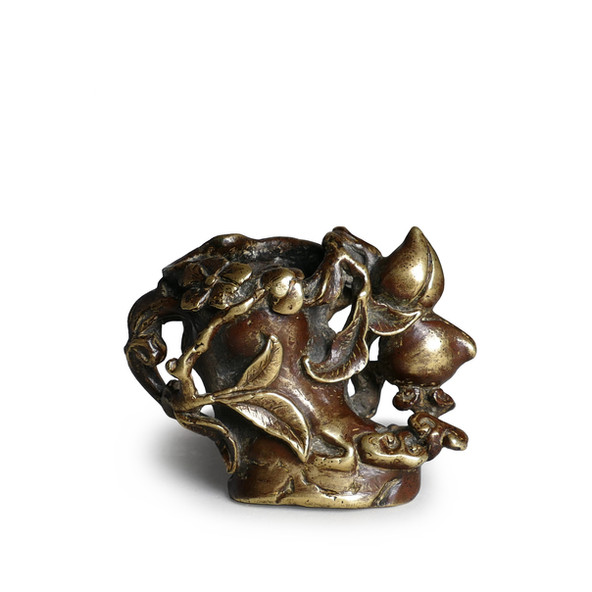 BRONZE WATER VESSEL, 17TH CENTURY