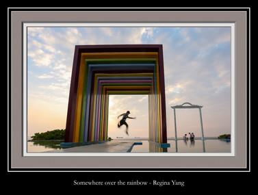Somewhere over the rainbow - Regina Yang