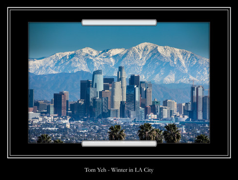 Winter in LA City - Tom Yeh