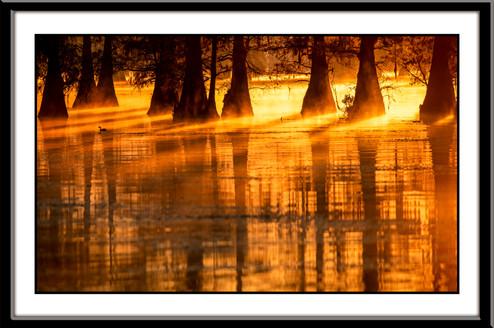 Caddle Lake sunrise - Wendy Yang