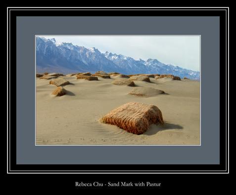 Sand Mark With Pasture - Rebeca Chu