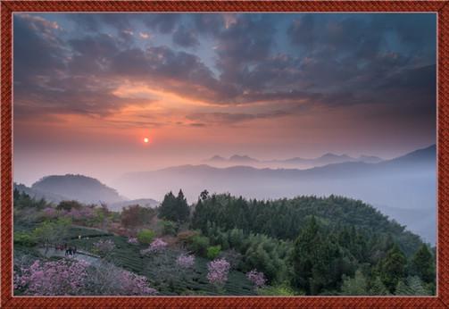 夕陽下的阿里山 - Rita Huang