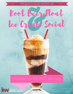 Root Beer Float & Ice Cream Social