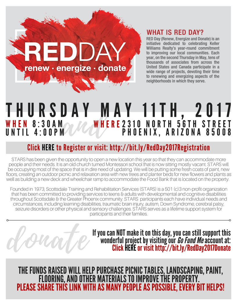 Red Day Flyer 2017