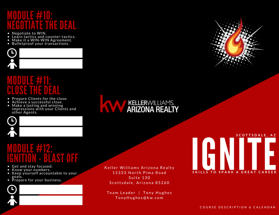 IGNITE Brochure Cover