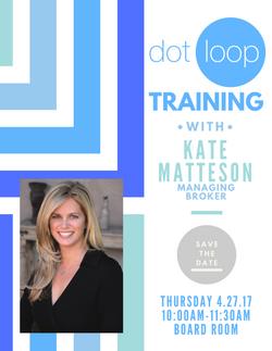 DotLoop Class Flyer