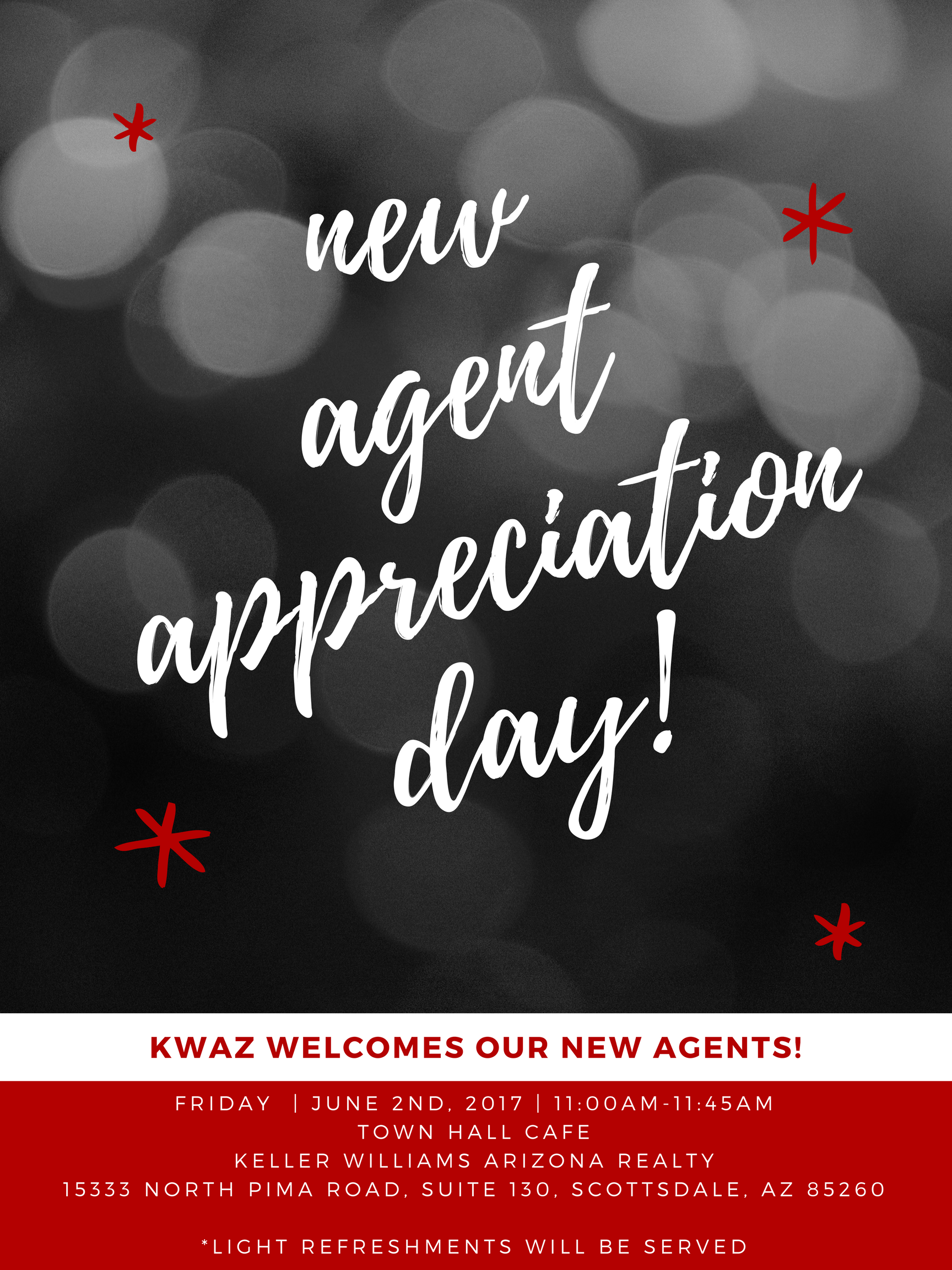 New Agent Appreciation