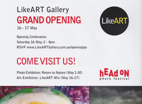 EXCITING NEW GALLERY IN LEICHHARDT