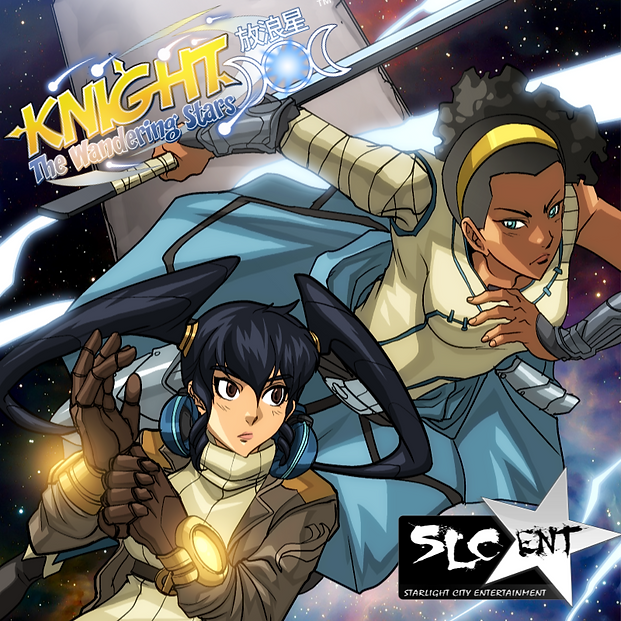 KNIGHT: The Wandering Stars Comic Preview