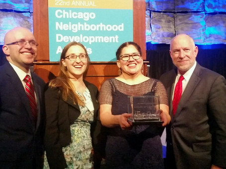 Little Village Quality of Life Plan is selected as the Chicago Community Trust Outstanding Community