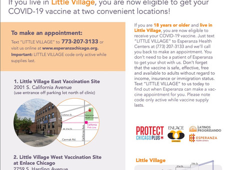 Little Village and Protect Chicago Plus