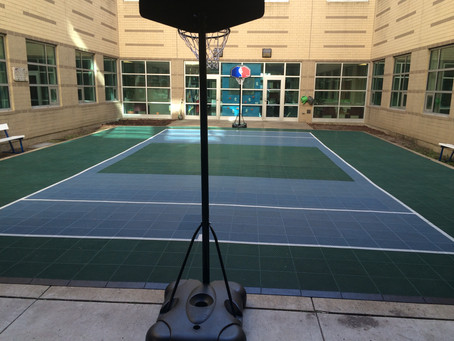 Sport Court Donation Improves Play at Madero Middle School